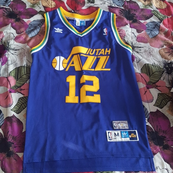 online store 89102 63e9c John Stockton throwback jersey